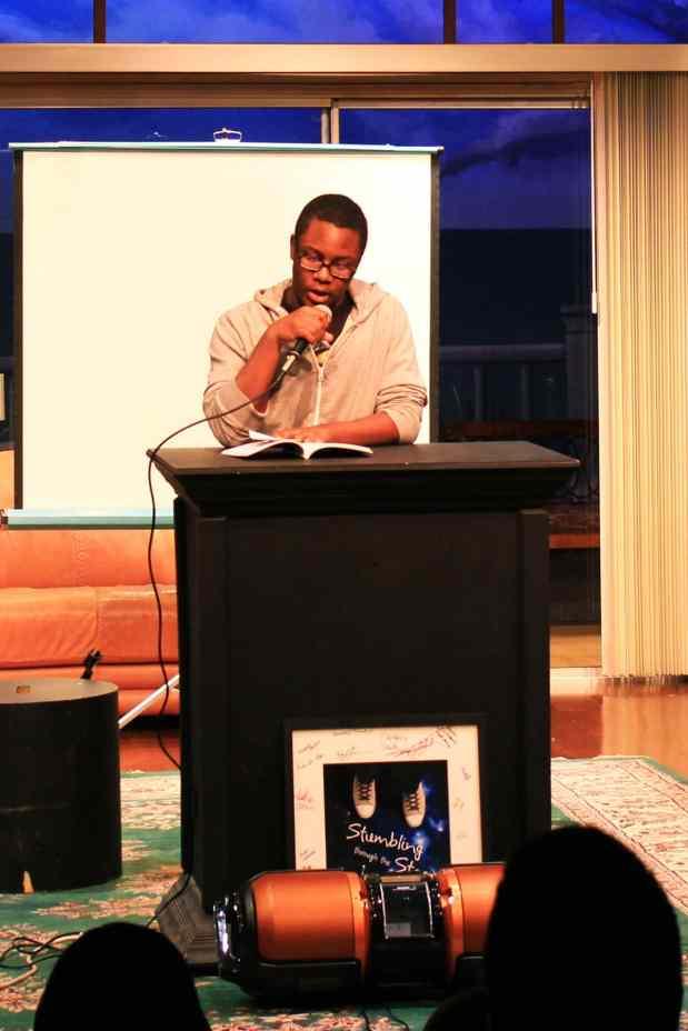 Jarreau Hudson reads The Family