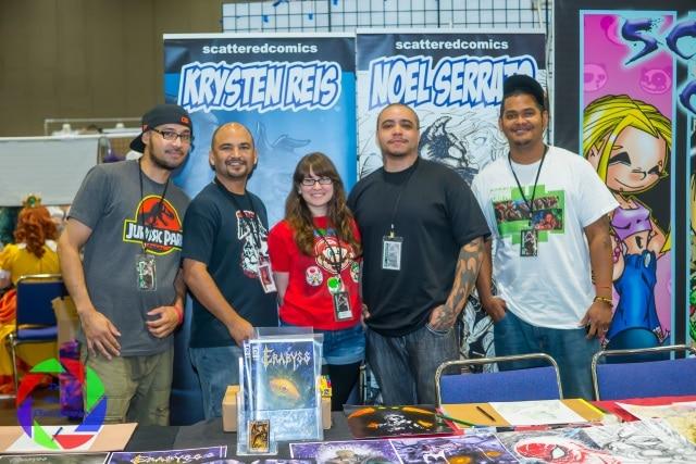Scattered Comics artists