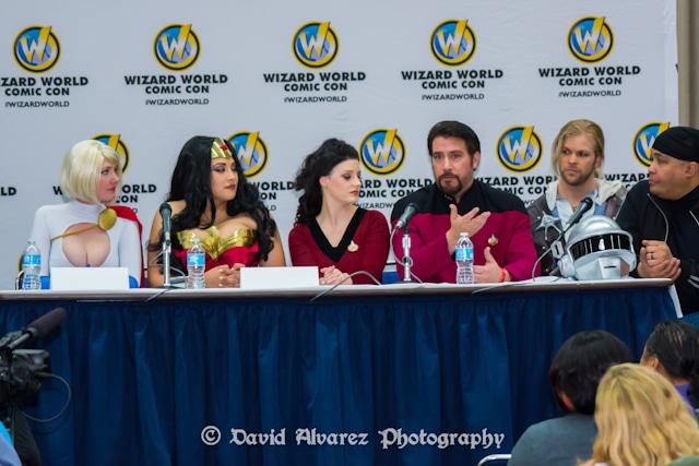 Wizard World Sacramento Comic Con 2014 Q&A Session