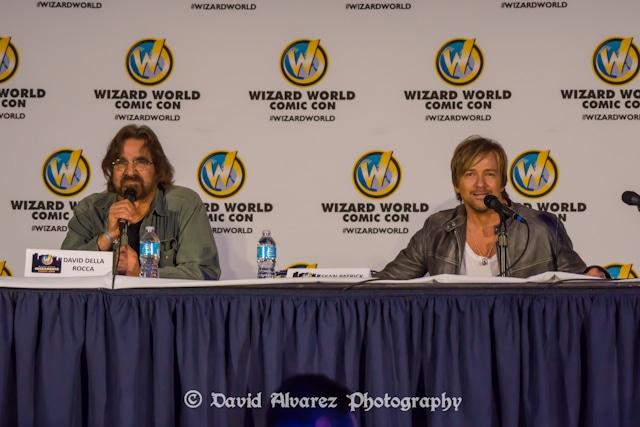 Wizard World Sacramento Comic Con 2014, David Della Rocco and Sean Patrick Flanery