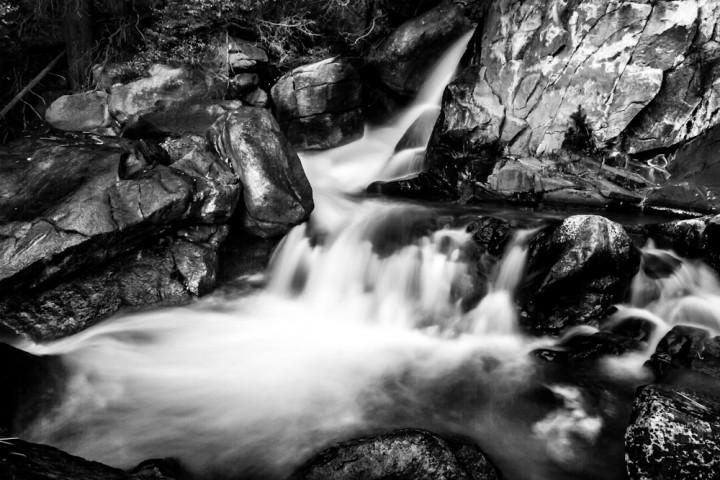 Big Pines Trails Water Fall