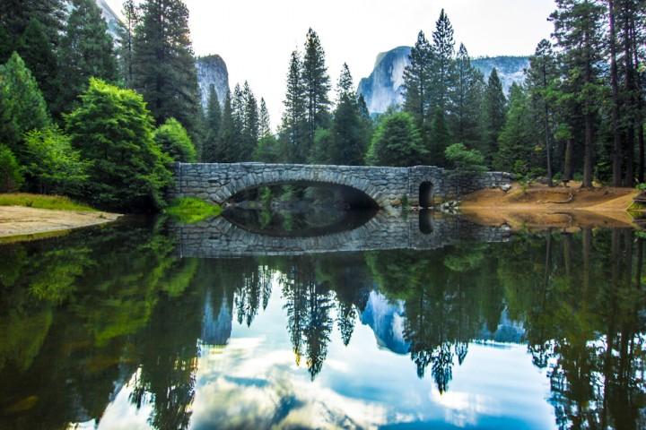 Stoneman Bridge in Yosemite National Park
