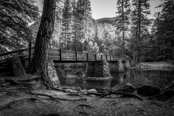 House keeping bridge in Yosemite national forrest