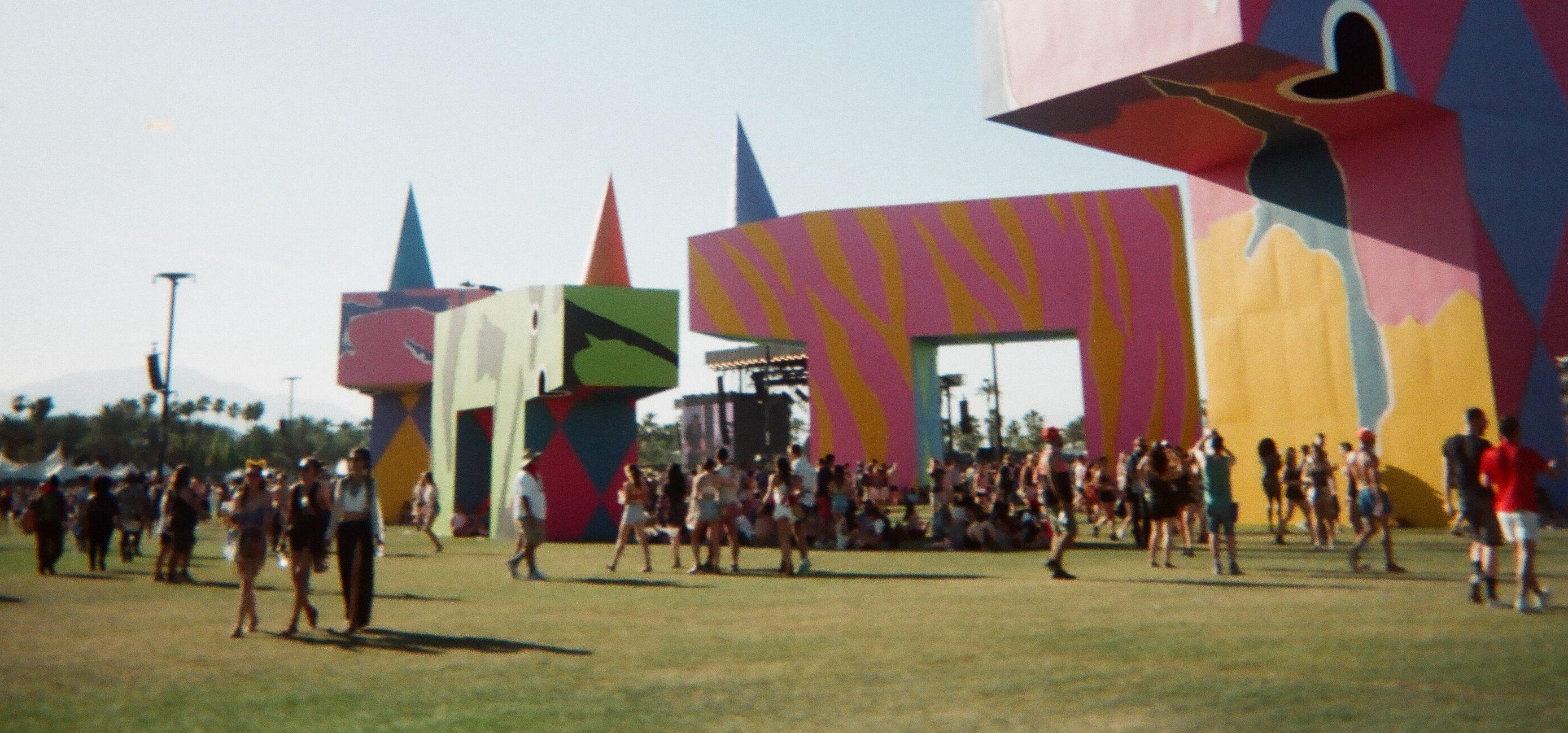 Coachella Weekend 1 on 35mm Film via @sacramentopress