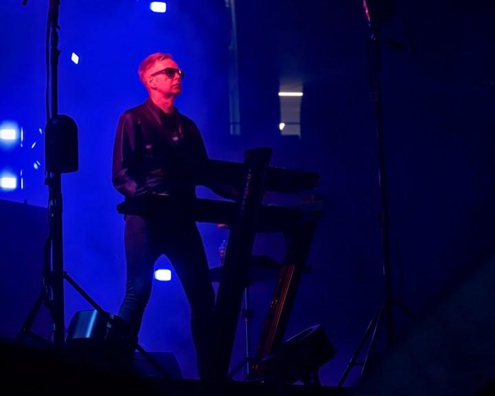 Andy Fletcher of Depeche Mode