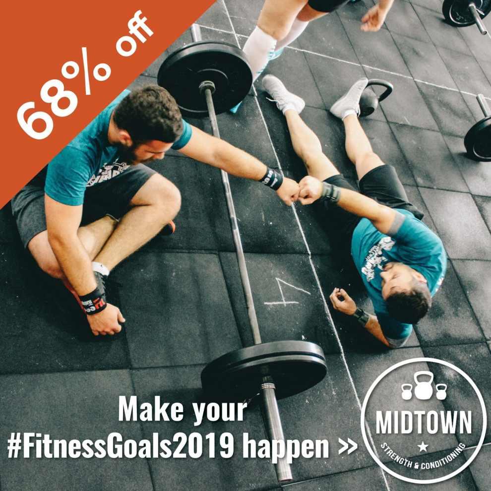 Midtown Strength Instagram - Midtown Strength - 68% off 1-6 Month Membership (+ Bonus Month FREE!)