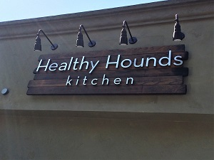 Healthy Hounds Kitchen Signage