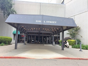 Community Center Theater Entrance
