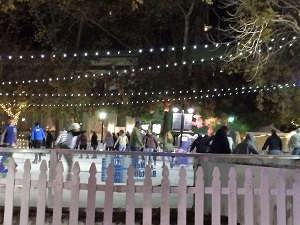 Ice Skating Rink in Downtown Sacramento