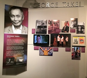California Hall of Fame George Takei Exhibit