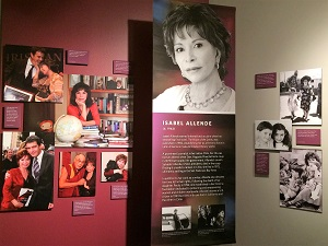 California Hall of Fame Isabel Allende Exhibit