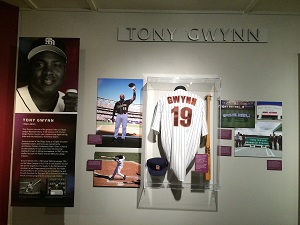 Tony Gwynn California Hall of Fame Exhibit