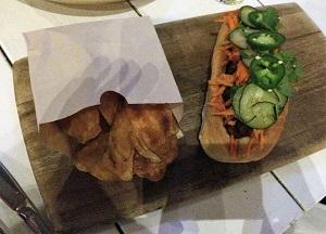 Picture of Iron Horse Tavern Mushroom Banh Mi