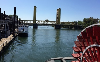 Picture of Tower Bridge in Sacramento