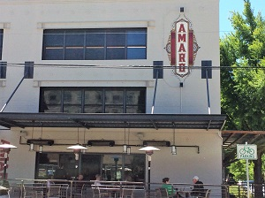 Picture of the exterior of Amaro Bistro & Bar