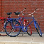 Picture of two bikes