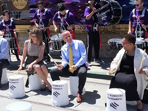 Picture of Major Steinberg & Sacramento Mandarins at Sacramento's Arts & Culture Event