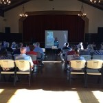 Picture of presentation at McKinley Water Vault Public Scoping Meeting