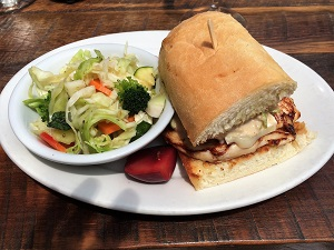 Picture of High-Hand Cafe Chicken Breast Sandwich