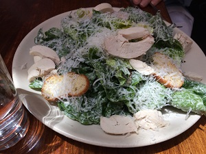 Chicken Caesar Salad 4th Street Shopping District