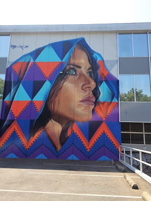 Picture of Wide Open Walls mural by Artist Adnate