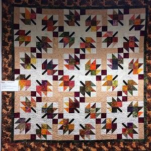 Picture of quilt available at the Sutter Cancer Center Quilt Auction
