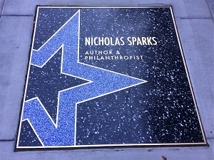 Picture of Sparks star on the Sacramento Walk of Stars