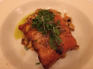 Picture of Biba salmon dish