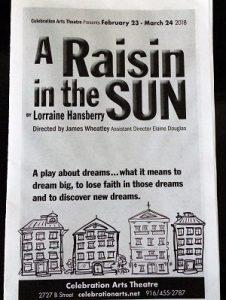 Picture of A Raisin in the Sun Program
