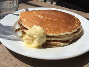 Picture of 33rd Street Bistro Lemon Ricotta Pancakes