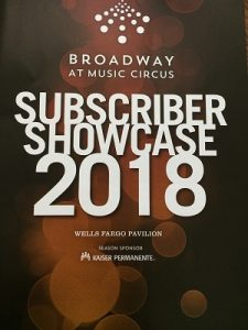 Photo of Broadway At Music Circus Program