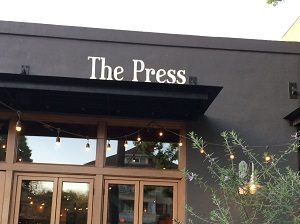 Picture of The Press Bistro signage