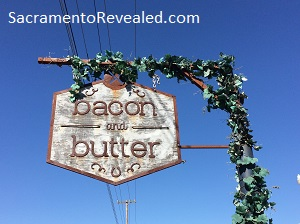 Photo of Bacon & Butter Signage