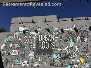 Photo of Urban Roots Lily Therens Mural