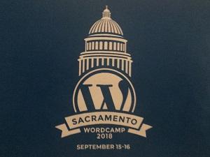 Photo of WordCamp Sacramento 2018 Logo