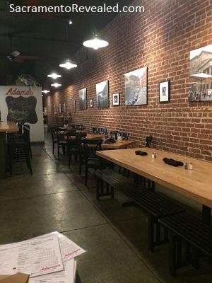 Photo of interior of Adamo's Kitchen