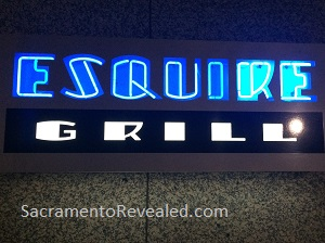 Photo of Esquire Grill Sign