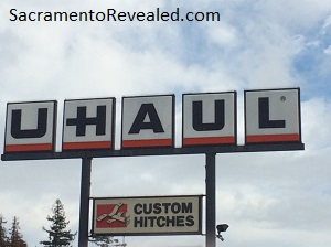 Photo of U-Haul Sign