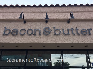 Photo of Bacon & Butter East Sacramento Signage