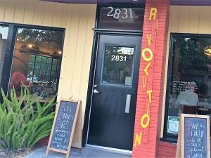 Photo of Revolution Winery & Kitchen Entrance