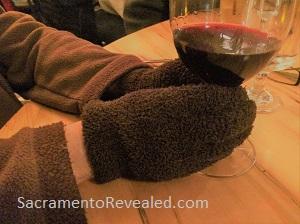 Photo of gloves at Woodlake Tavern