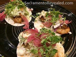Photo of Hoppy's Railyard Kitchen & Hopgarden Shrimp Tacos