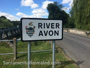 Photo of Amesbury River Avon Sign