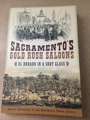 Photo of book - Sacramento's Gold Rush Saloons