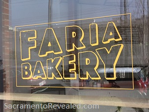 Photo of Faria Bakery Signage