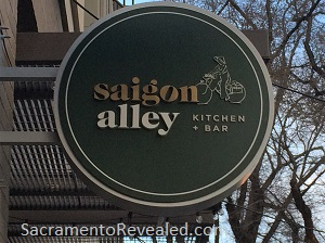 Photo of Saigon Alley Signage