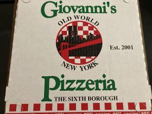 Photo of Giovanni's Pizza Box