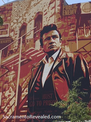 Photo of Wide Open Walls Johnny CashMural