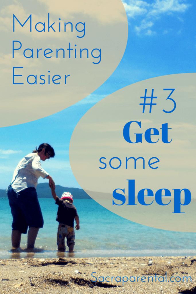 Do you get enough sleep? (Of course you don't!) Do you want some ideas and motivation to help? | Sacraparental.com