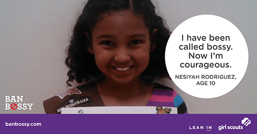 From the Ban Bossy campaign, and heaps more in this post about subtly sexist language | Sacraparental.com